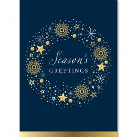 Silver & Gold Season's Greetings